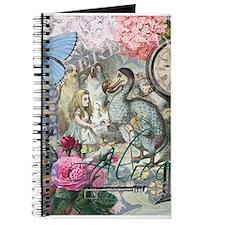 Alice in Wonderland Dodo Vintage Pretty Collage Jo