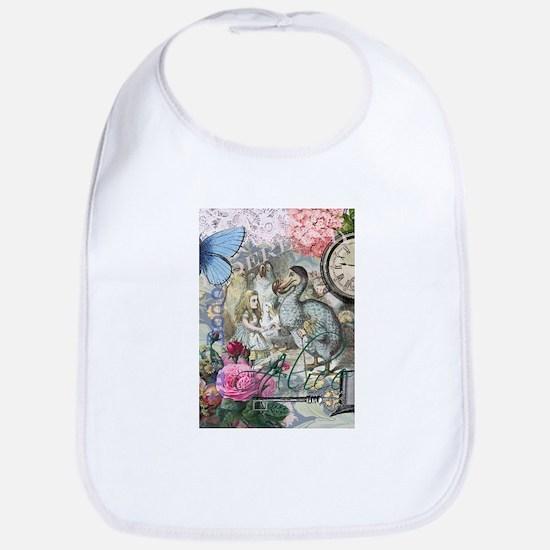 Alice in Wonderland Dodo Vintage Pretty Collage Bi