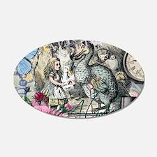 Alice in Wonderland Dodo Vintage Pretty Collage Wa