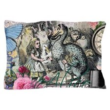 Alice in Wonderland Dodo Vintage Pretty Collage Pi