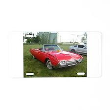 1962 Ford Thunderbird Aluminum License Plate