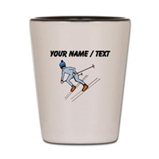 Custom Skier Shot Glass