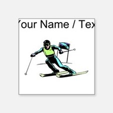 Custom Slalom Racer Sticker