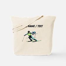 Custom Slalom Racer Tote Bag