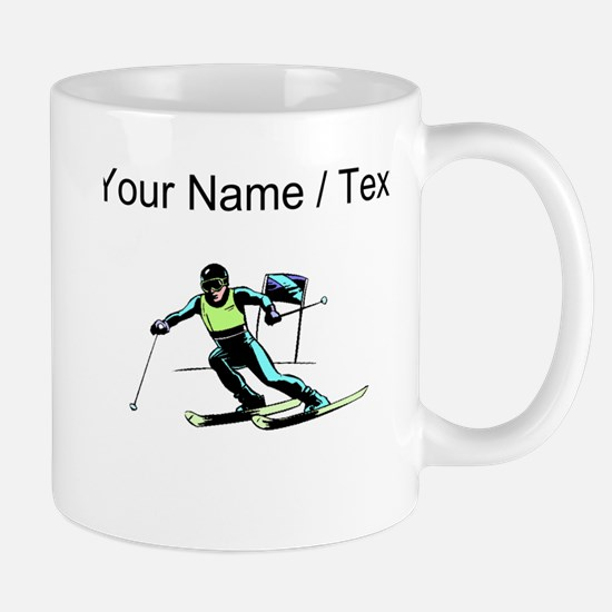 Custom Slalom Racer Mugs