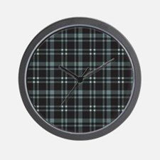 Plaid-18-2 Wall Clock
