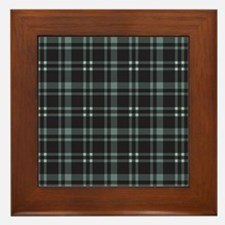 Plaid-18-2 Framed Tile