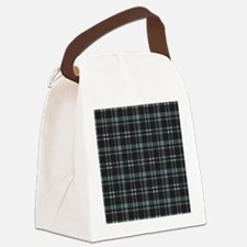 Plaid-18-2 Canvas Lunch Bag