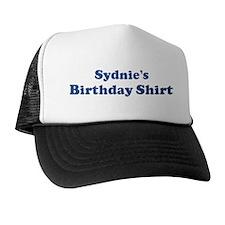 Sydnie birthday shirt Trucker Hat