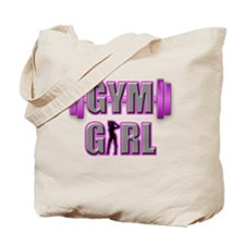 Gym Girl Design 3 Tote Bag