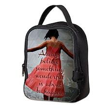 Always Believe Neoprene Lunch Bag