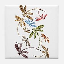 Dragonfly Pop Tile Coaster