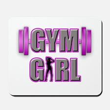 Gym Girl Design 3 Mousepad