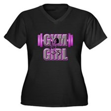 Gym Girl Design 5 Plus Size T-Shirt