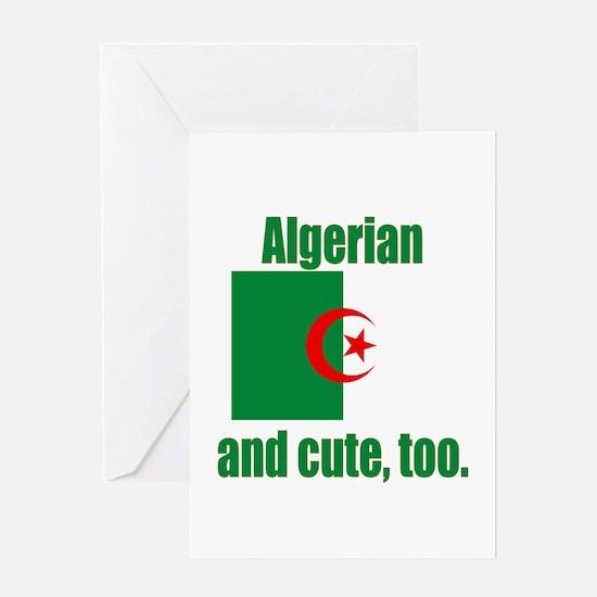 Algerian & Cute Greeting Card