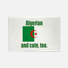 Algerian & Cute Rectangle Magnet