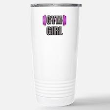 Gym Girl Design 2 Travel Mug