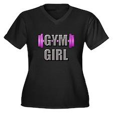 Gym Girl Design 2 Plus Size T-Shirt
