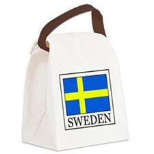 Sweden Canvas Lunch Bag