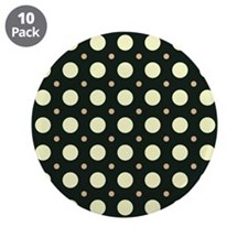 """Dots-2-31 3.5"""" Button (10 pack)"""