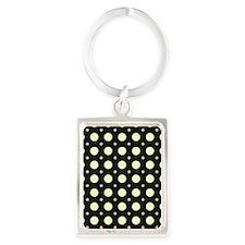Dots-2-31 Portrait Keychain