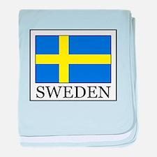 Sweden baby blanket