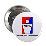 National Beer Pong League Button