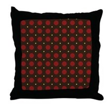 Dots-2-29 Throw Pillow