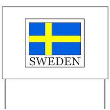 Sweden Yard Sign