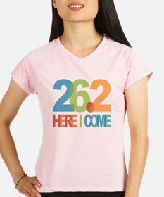 26.2 - Here I come Performance Dry T-Shirt