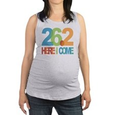 26.2 - Here I come Maternity Tank Top