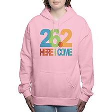 26.2 - Here I come Women's Hooded Sweatshirt