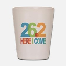26.2 - Here I come Shot Glass