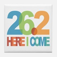 26.2 - Here I come Tile Coaster