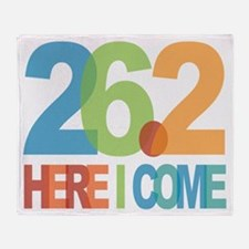 26.2 - Here I come Throw Blanket