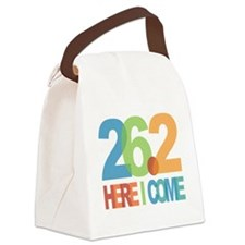 26.2 - Here I come Canvas Lunch Bag