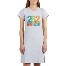 26.2 - Here I come Women's Nightshirt