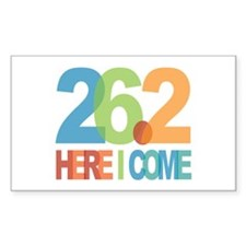 26.2 - Here I come Decal
