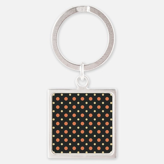 Dots-2-26 Square Keychain