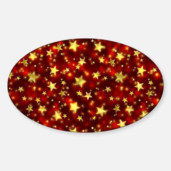 Shining Stars Sticker (Oval)