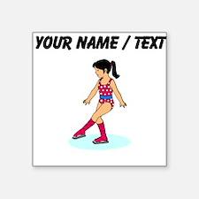 Custom Figure Skater Sticker