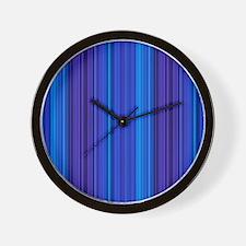 Groovy Hues Wall Clock