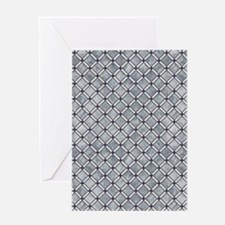 Diamond Tiles Greeting Card