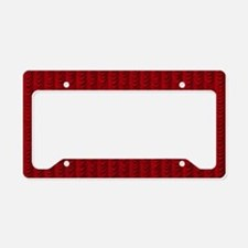 Curtain Call License Plate Holder