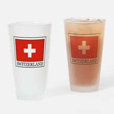 Switzerland Drinking Glass
