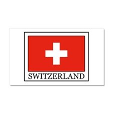 Switzerland Car Magnet 20 x 12