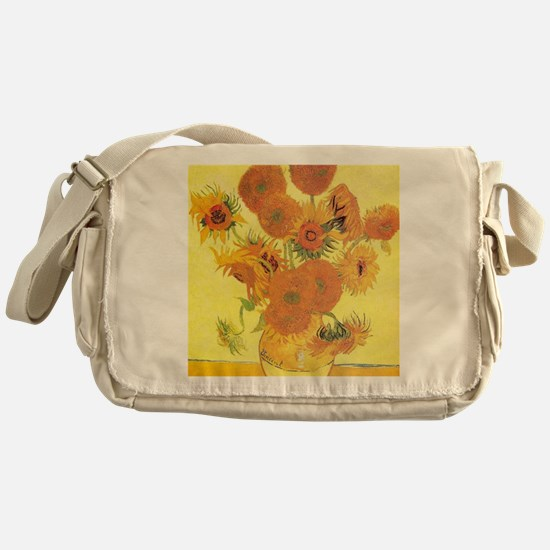 Van Gogh Sunflowers Messenger Bag
