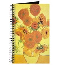 Van Gogh Sunflowers Journal