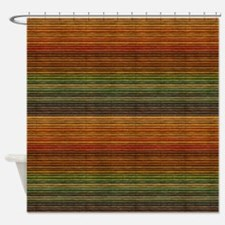 Colorful Blinds Shower Curtain