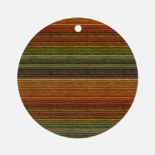 Colorful Blinds Ornament (Round)